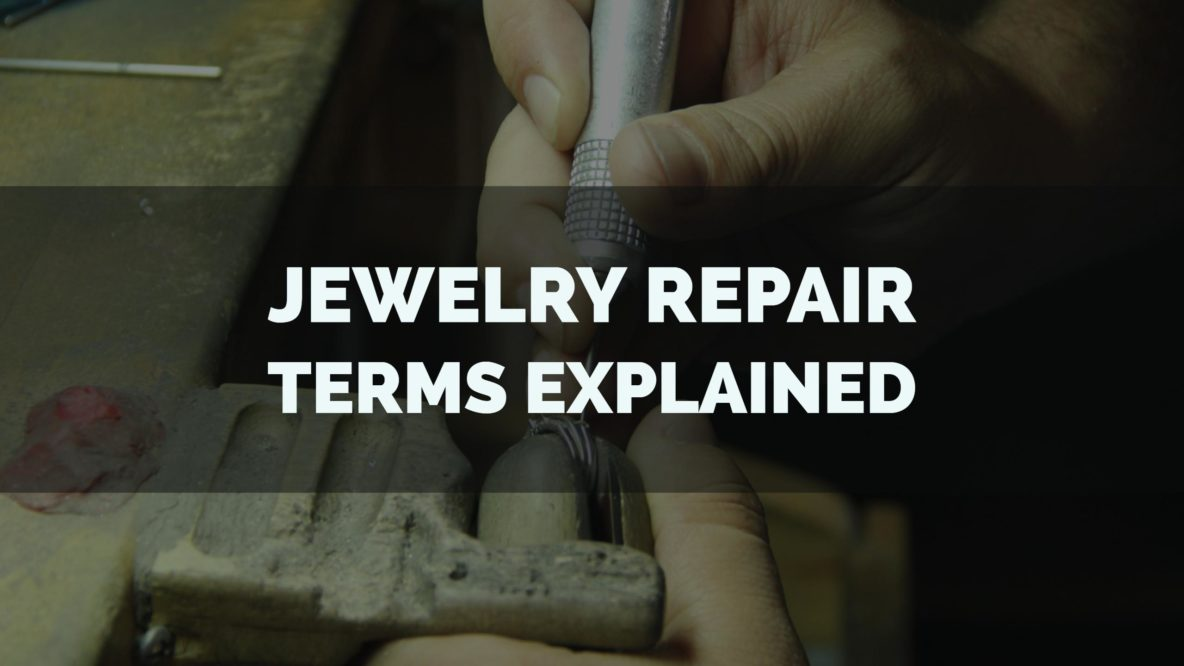 jewelry repair items explained