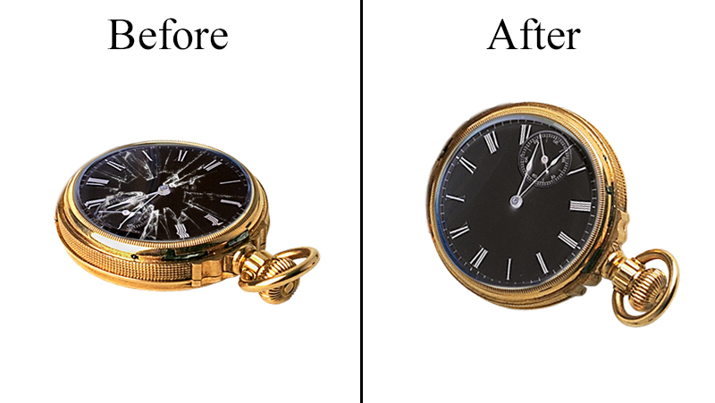 watch crystal repair