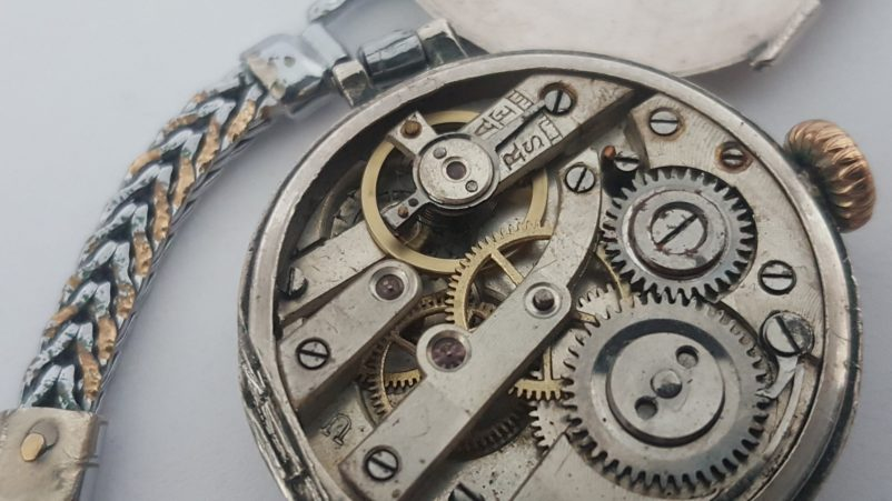 clean overhaul watch mechanical movement