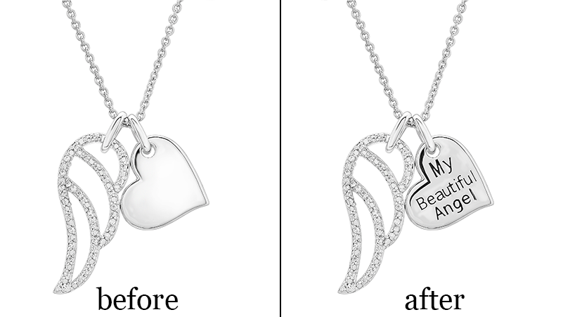 personalize your jewelry with engraving