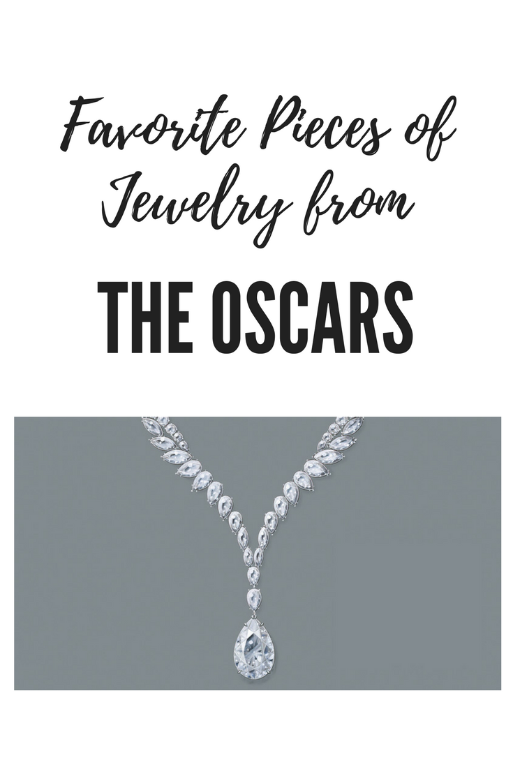 Jewelry from the Oscars