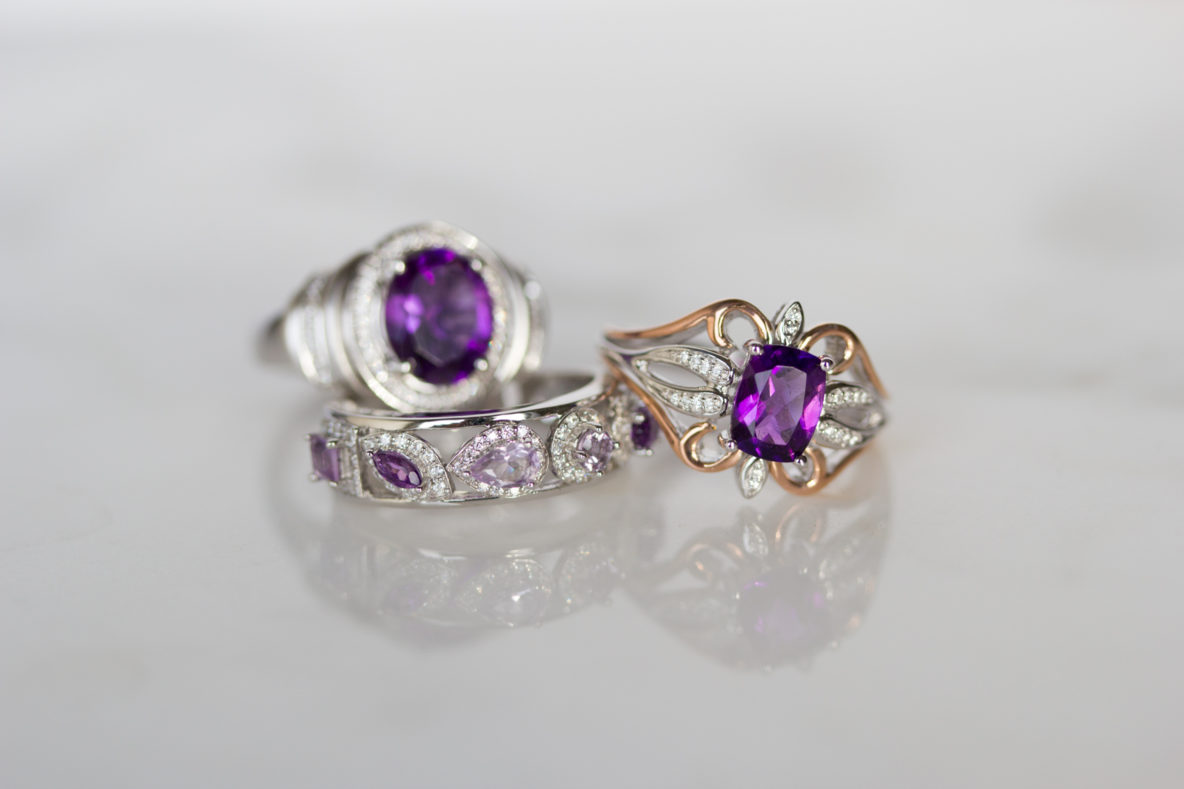 different types of birthstones Amethyst
