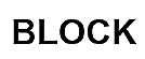 block-font-engraving