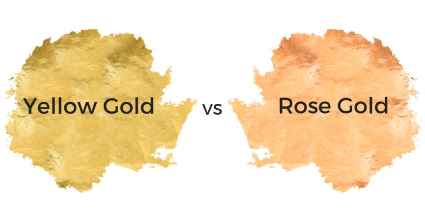 yellow gold vs rose gold