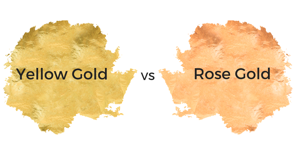 yellow gold vs rose gold