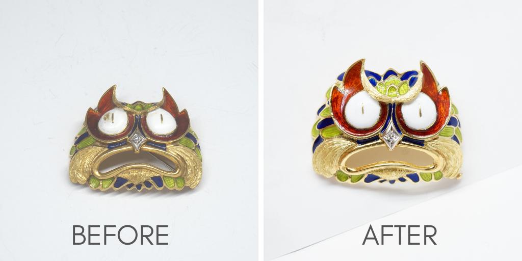 jewelry-enameling-owl