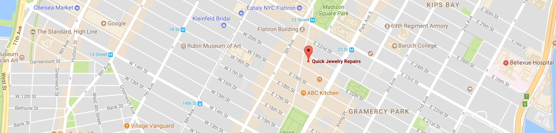 quick jewelry repairs location map