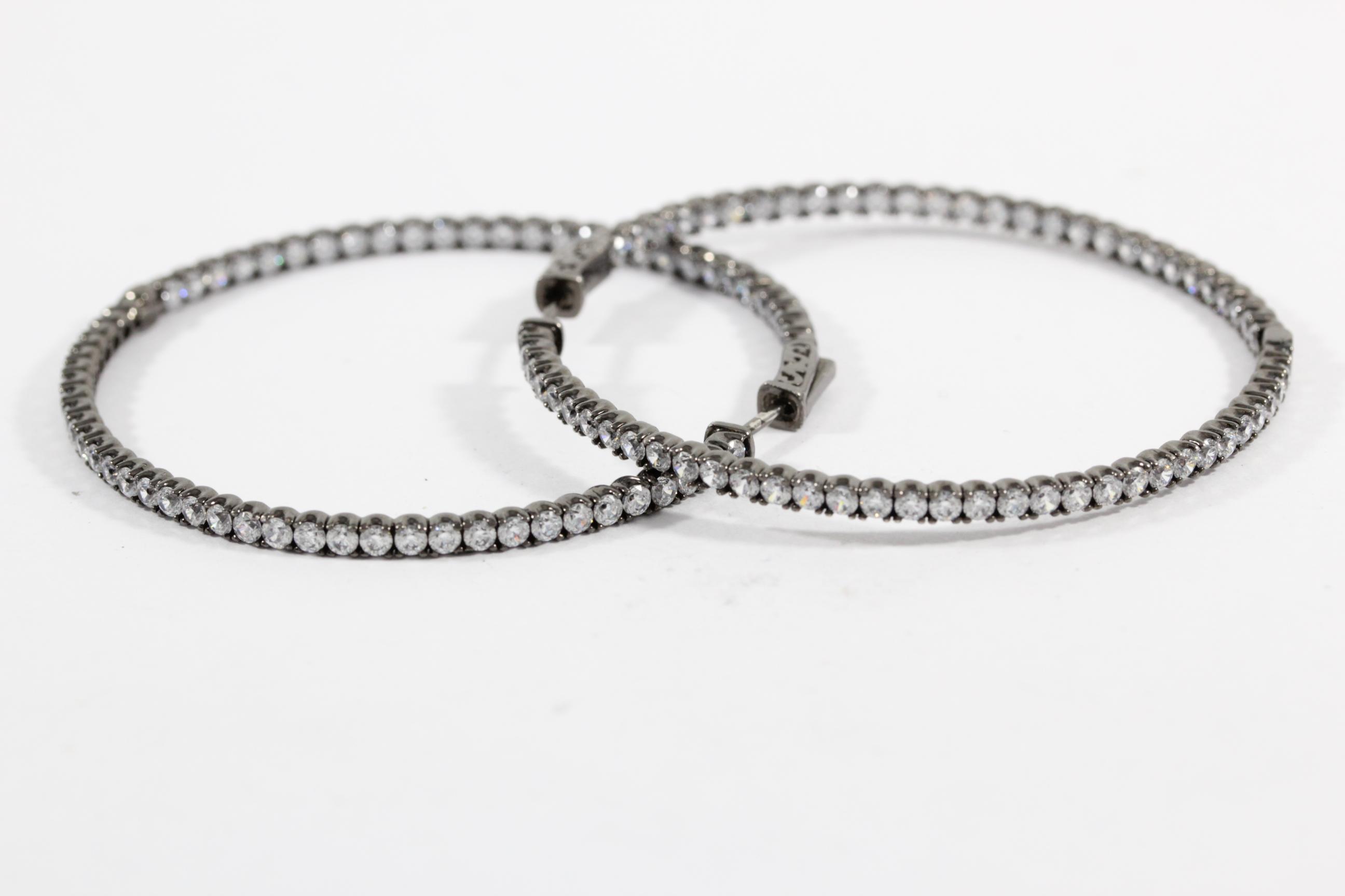 black-rhodium-earrings