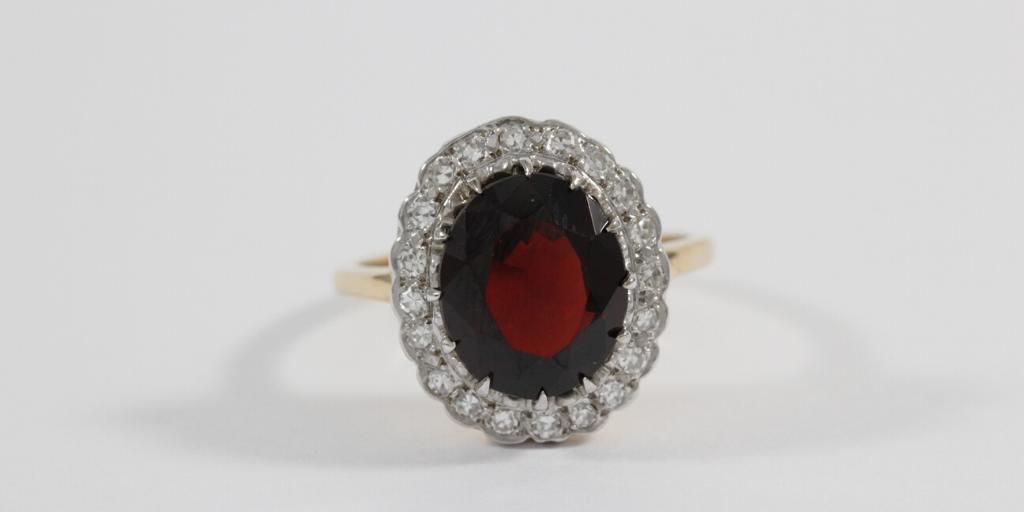 garnet-ring