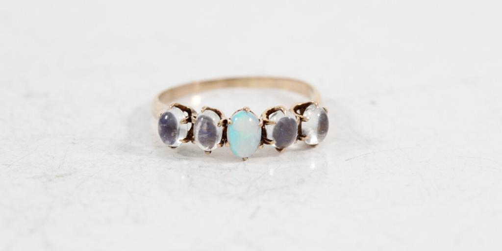 moonstone-opal-ring