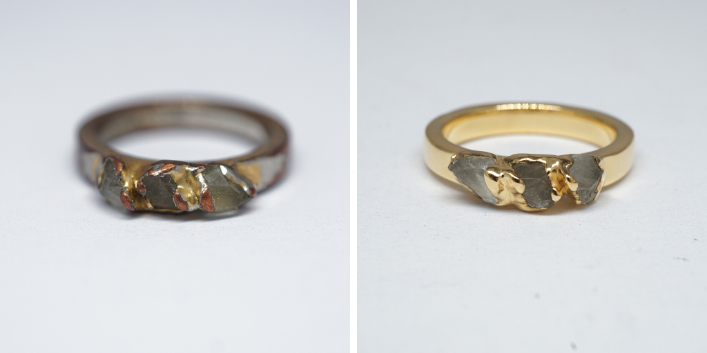 how-to-size-a-gold-plated-ring-copper